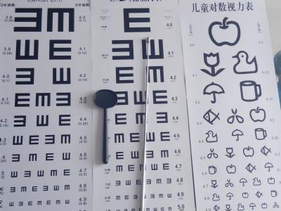 视力测试表上要用E字竟是因为这